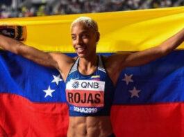 Yulimar Rojas atleta triple salto Venezuela activista LGBT