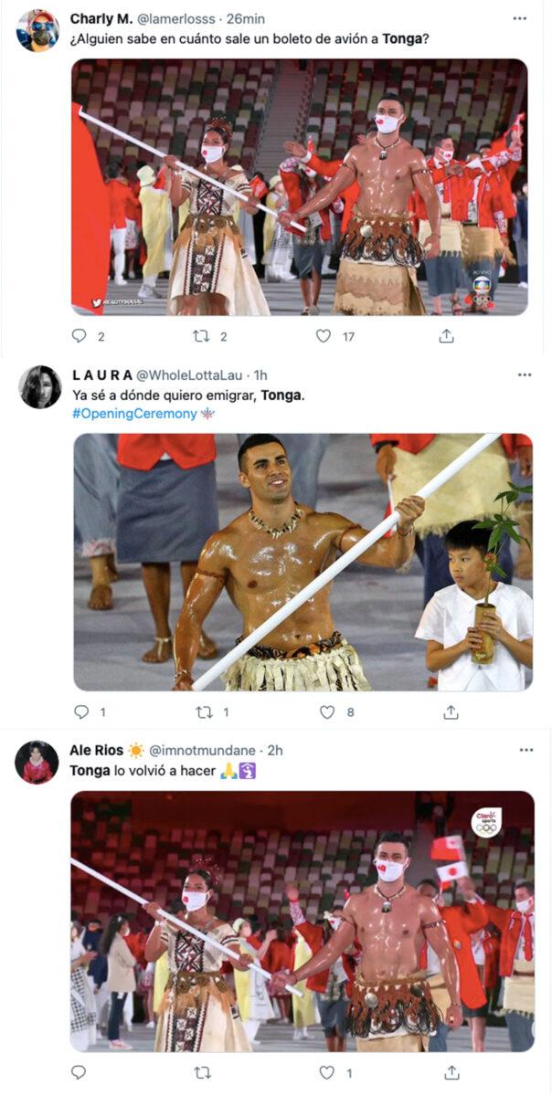 ceremonia apertura juegos olimpicos Tonga