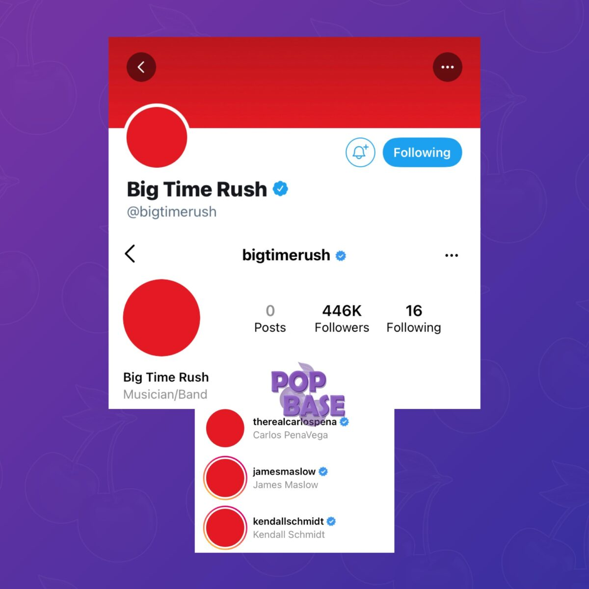 reunión Big Time Rush 2021