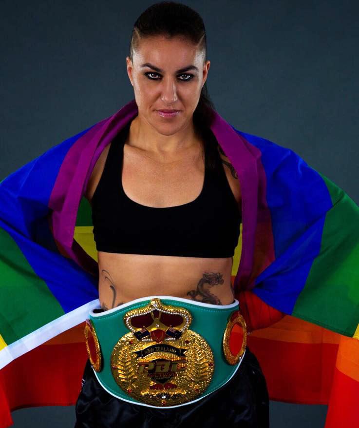 boxeadoras lesbianas Geovana Peres