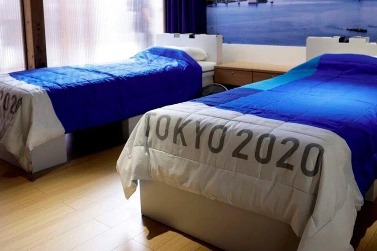 gimnasta camas antisexo Tokio 2020