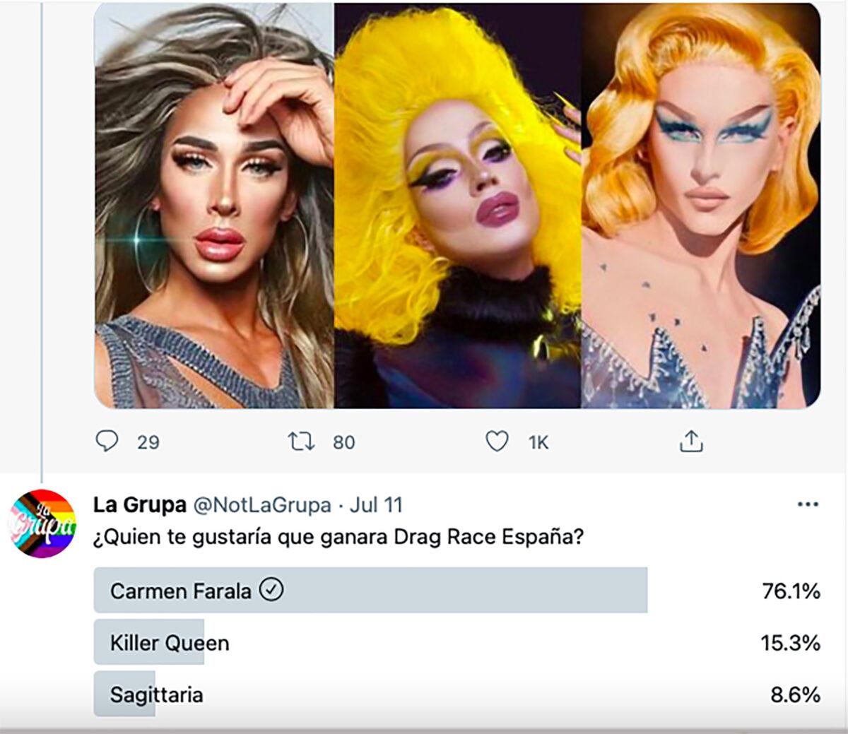 finalistas Drag Race España