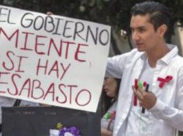 desabasto medicamentos VIH México