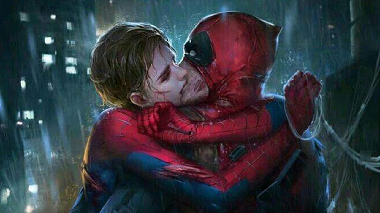 Deadpool Spider-Man gay