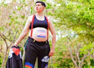 Gabriel Romero Piña hombre trans embarazado en Culiacán