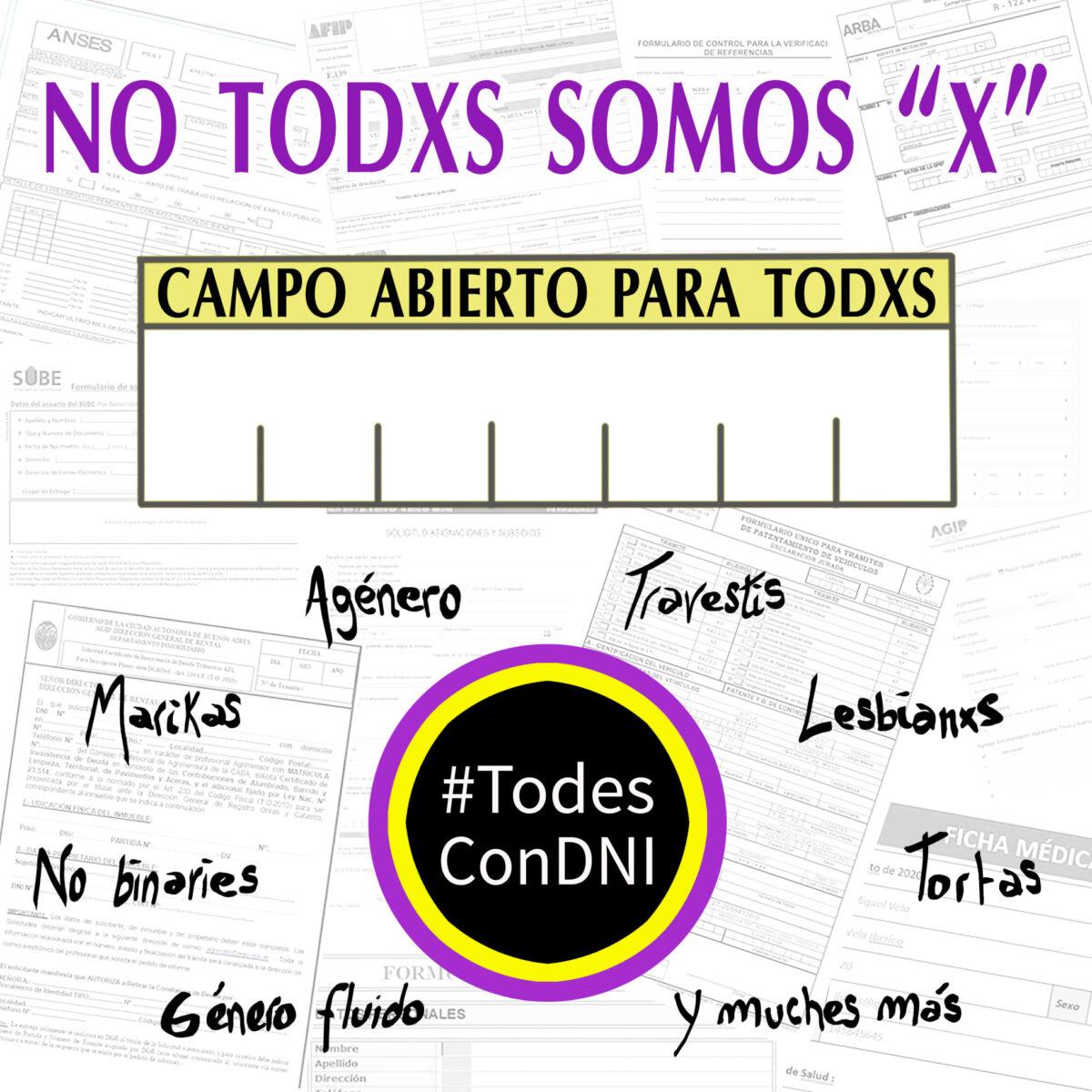 no todxs somos x todes con dni argentina