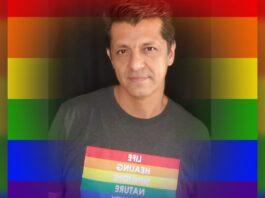 Alfredo Candiani organizador de la marcha LGBT+ de Mérida