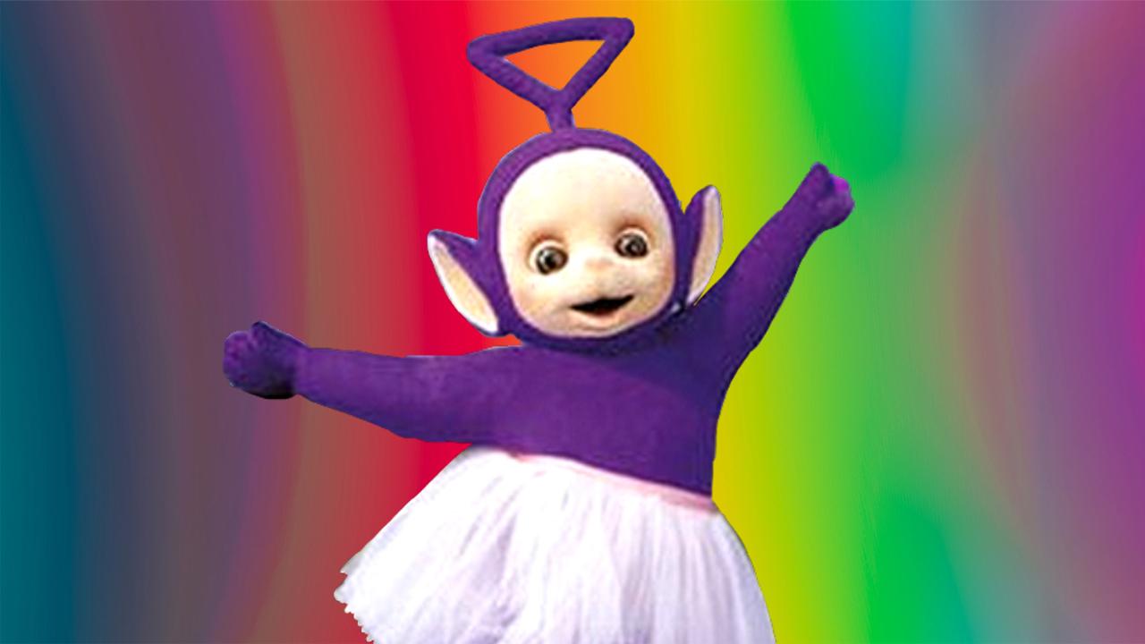 Tinky Winky teletubby gay