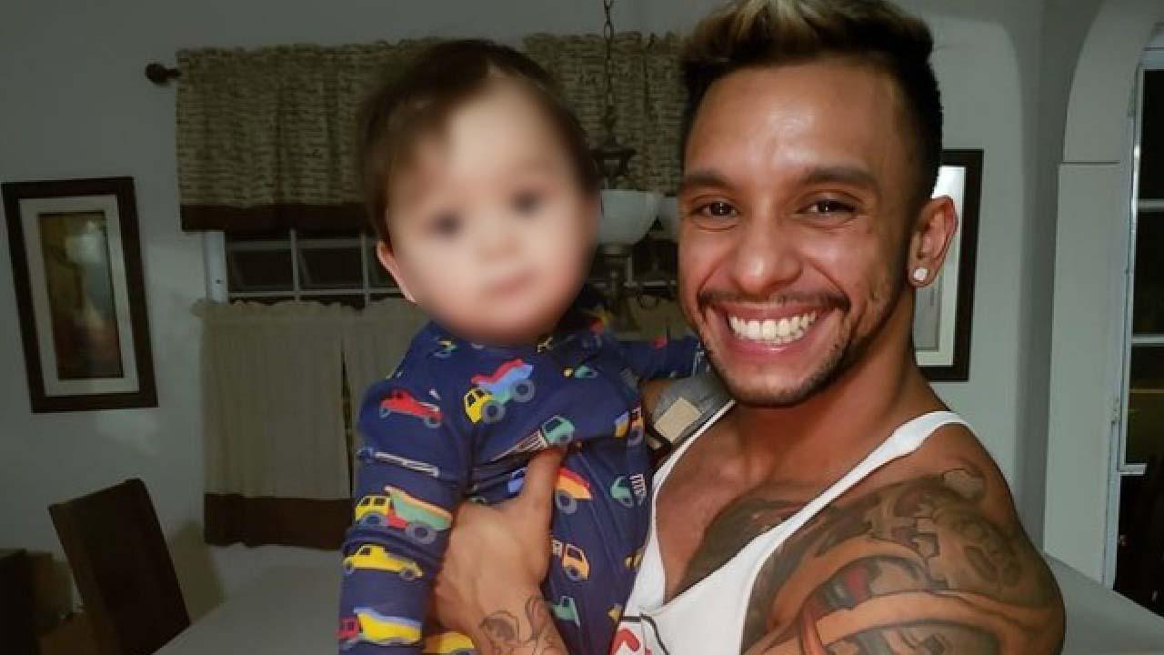 Fotos tiernas de papás trans latinos