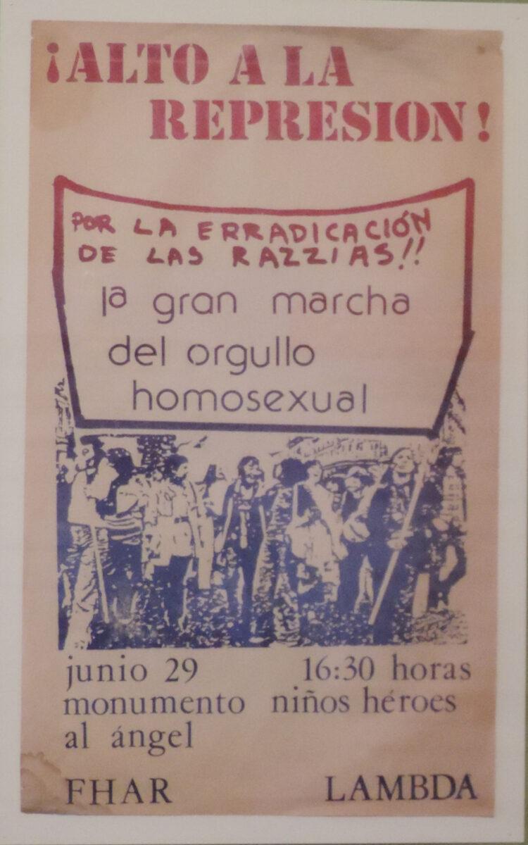 Primera marcha LGBT+ de la historia de México