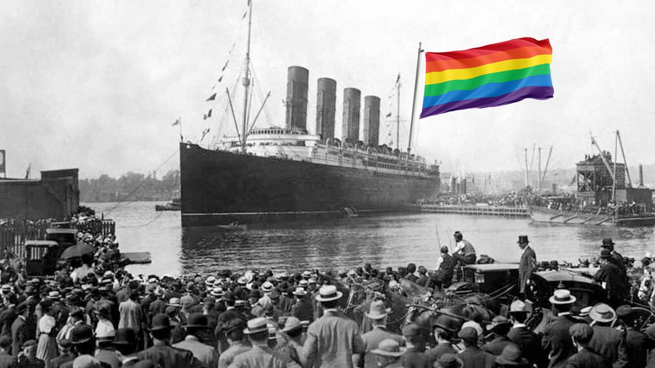 gays Titanic murieron