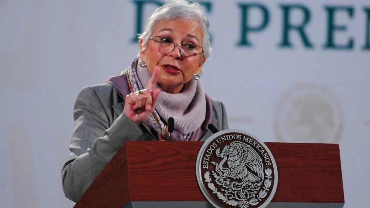 Olga Sánchez Cordero extitular de Segob se va al Senado de la República