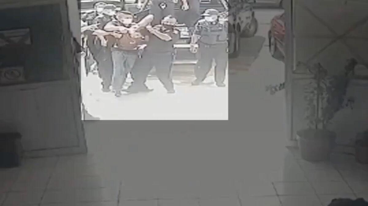 policíaa video josé eduardo ravelo mérida yucatán