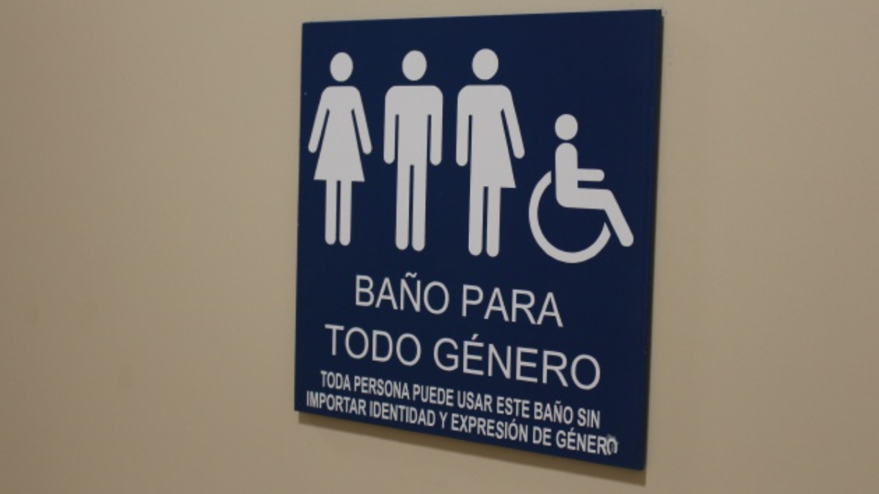 baños inclusivos sin género discriminación