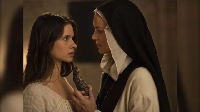 Película benedetta muestra escena donde usan a virgen María de consolador