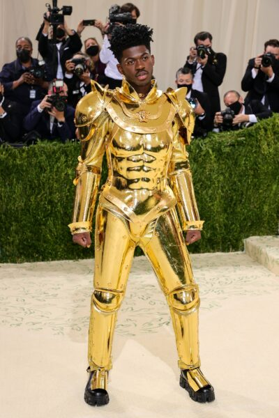 Lil Nas X caballero Zodiaco Met Gala 2021