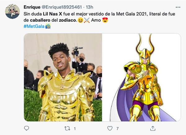 Lil Nas X Met Gala 2021