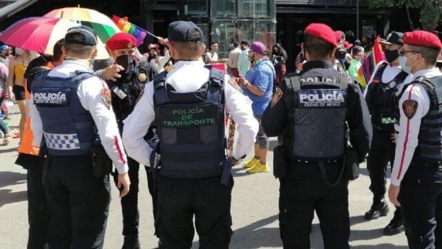 Agresiones de policías a personas LGBT+ en México 2021