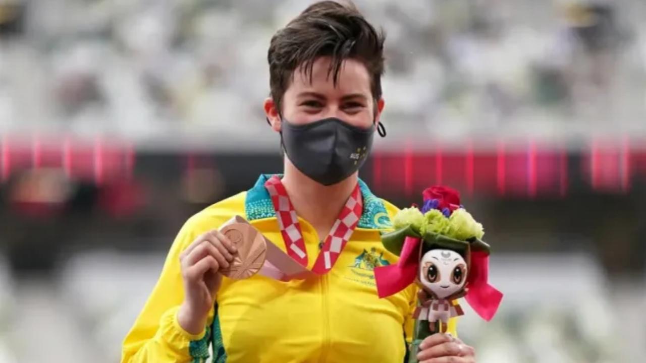 robyn lambird atletas LGBT deportistas medalla Juegos Paraolímpicos Tokio 2020