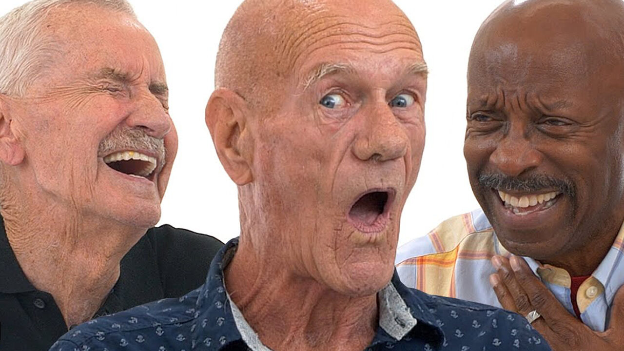 Adultos mayores gays TikTok the old gays