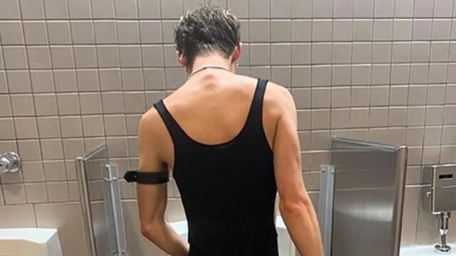 Tom Daley foto Troye Sivan pipí baño Met Gala Rihanna